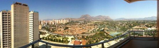 Hotel Levante Club & Spa: vistas desde habitación planta 15