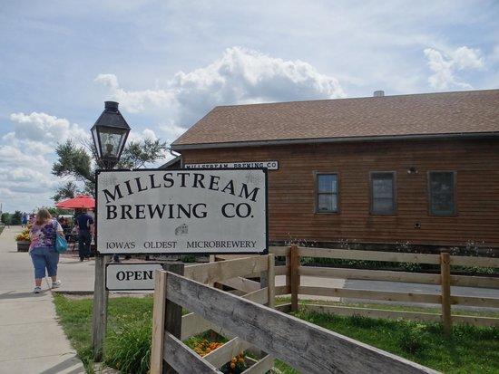 Amana Colonies National Historic Landmark: Millstream Brewing Co.