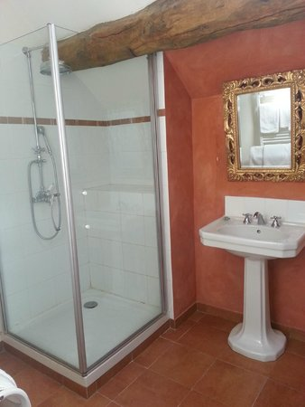 Hotel Le Pavillon du Chateau de Garrevaques : Salle de bain