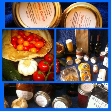 St Philip's Plaza Farmers' Market: All my yummy finds today
