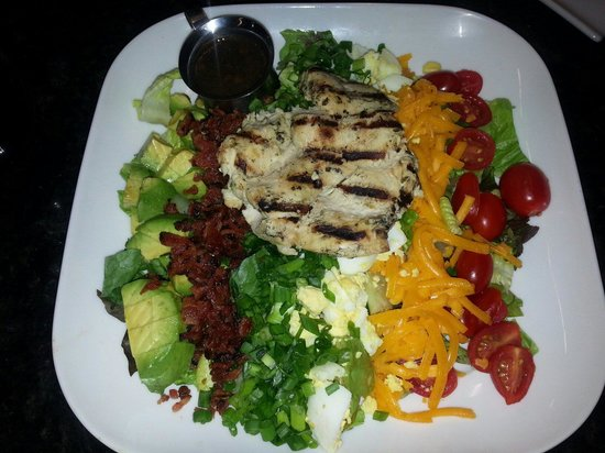 TopGolf Dallas: My GRILLED CHICKEN SALAD