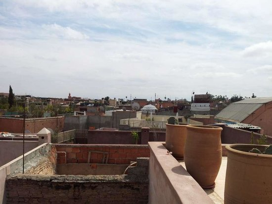 Bazaar Cafe: Panorama dalla terrazza