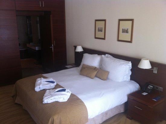 Radisson Blu Hotel Gdansk: Very comfy bed!