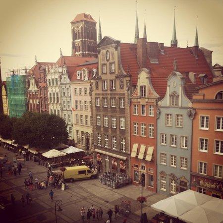 Radisson Blu Hotel Gdansk: Długi Targ - view from the room