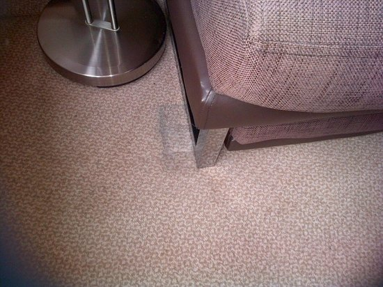 Hilton Blackpool Hotel : Carpet room