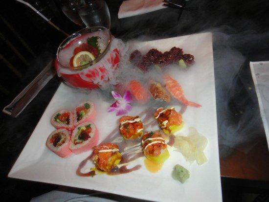 Ninja New York: Também tem comida japonesa!