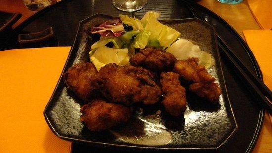 Naruto: poulet karaage