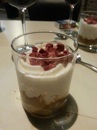 Restaurante & Bistro Casa Alfonso: Increíble postre