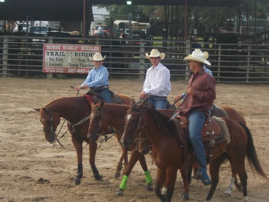 The Kissimmee Sports Arena Rodeo: Its a real cowboy