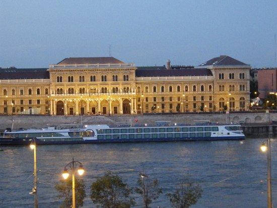 Danubius Hotel Gellert: view from my room