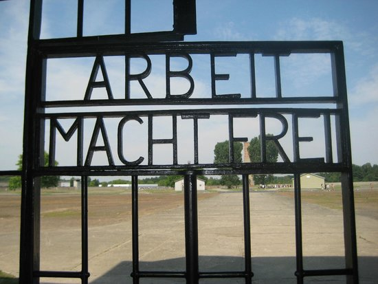 Sachsenhausen Concentration Camp : whos kidding who
