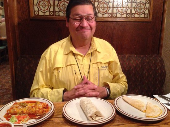 "My Friend. ""John "" has 'Three-Course' Dinner All Lined Up - Gordito's Mexican Restaurant of Fair"