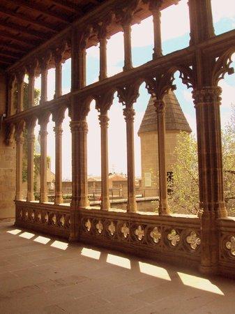 Palacio Real de Olite: Galería del Rey.