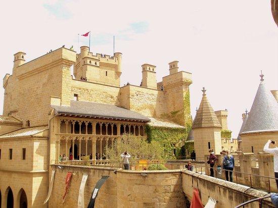 Palacio Real de Olite: Torres y miradores.
