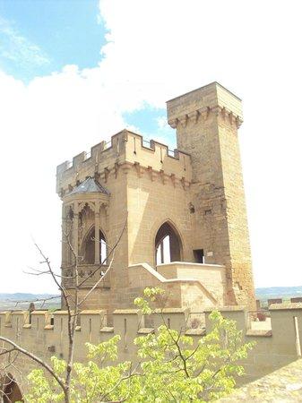 Palacio Real de Olite: Torre de las Tres Coronas.