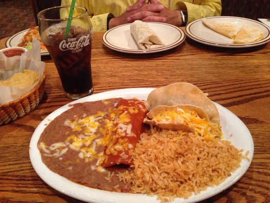 "A Combo Plate ""Fit For A Bear"" - Gordito's Mexican Restaurant"