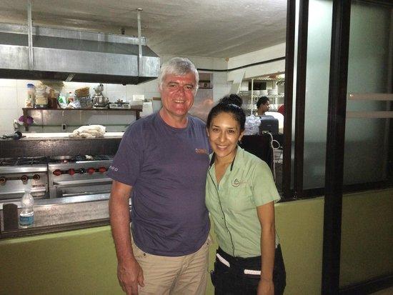 Mayan Bistro: Merci Gabriella ...