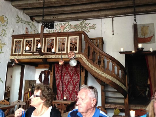 Olde Hansa : The High Table in the dining room