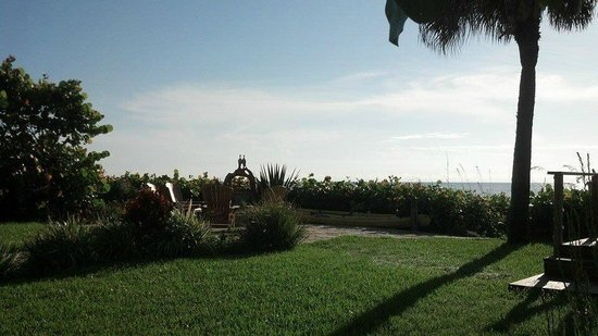 Beach Place Guesthouses : View from our French Door