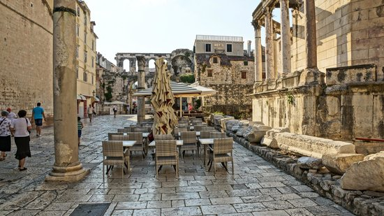 Old Split: Старый город