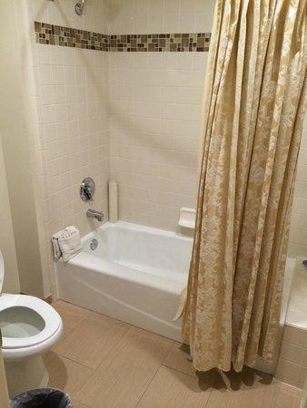 Best Western Plus Dixon Davis : toilette and tub area