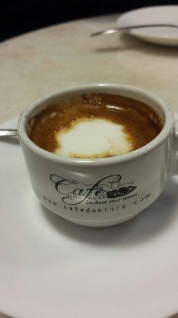 Cafe Don Ruiz: Macchiato