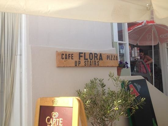 Flora Comfort Cuisine : Good for ice cream