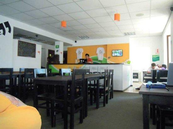 Che Lagarto Hostel Lima: Comedor