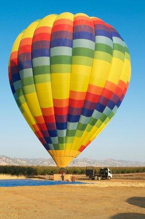 Candlelight Inn Napa Valley: Napa Valley Balloons