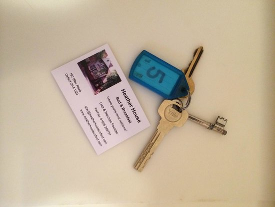 Heather House : skeleten key :)