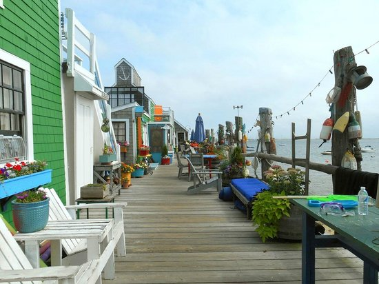 Provincetown, MA: muelle