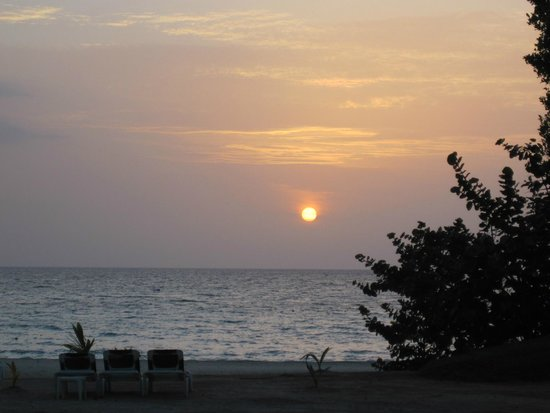 Hotel Riu Palace Tropical Bay : Sunset