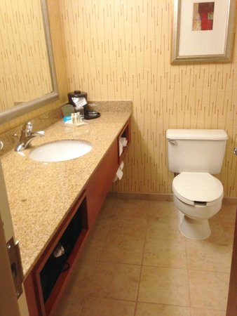 Holiday Inn Cincinnati Airport: Clean bathroom