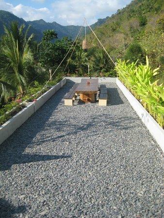 Svarga Resort Lombok: dinner table