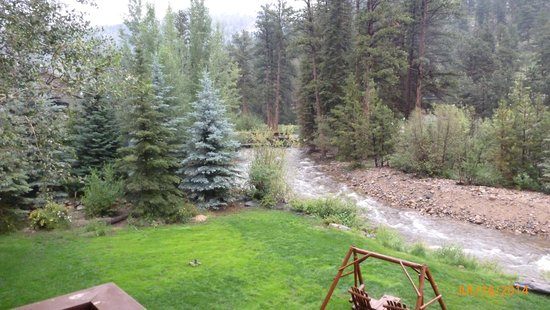 Aspen Winds on Fall River : View from the room