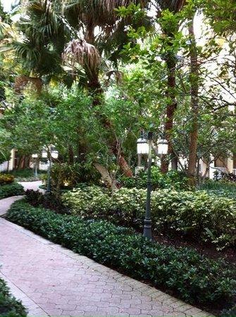 Wyndham Sea Gardens: beautiful gardens