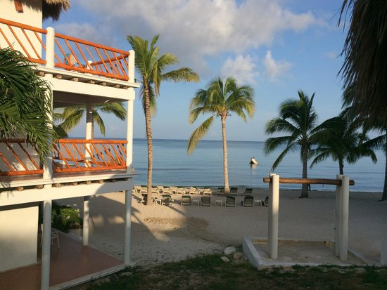 Sunscape Sabor Cozumel: View of our suite and the ocean... wow!
