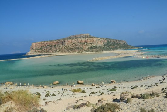 Balos Beach and Lagoon : panorama