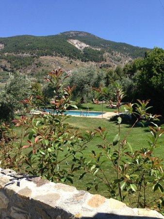La Almunia del Valle: The pool