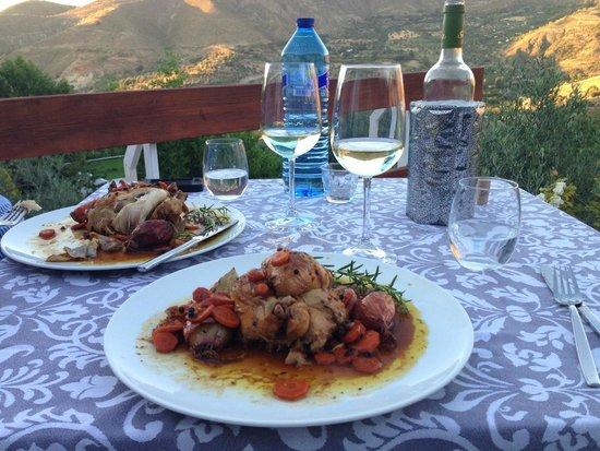 La Almunia del Valle: Our favorite meal