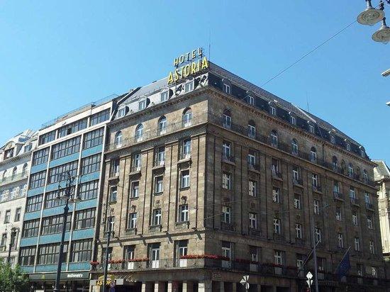 Danubius Hotel Astoria City Center: Vista Hotel