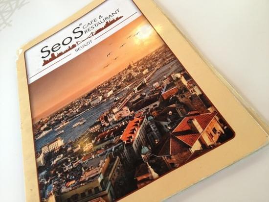 Seos Cafe & Restaurant: Menu
