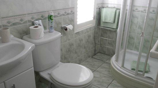 The Mayfair Guest House: En-suite bathroom - Room 7