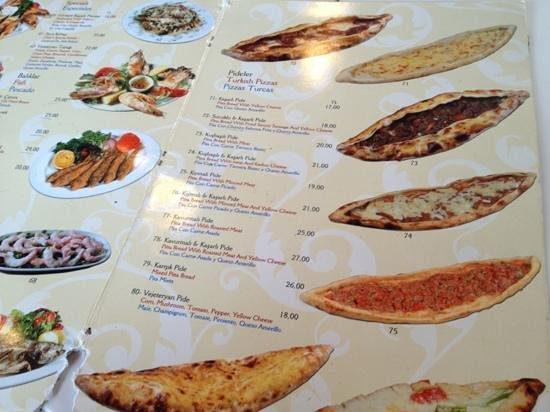 Seos Cafe & Restaurant: From menu with high prices