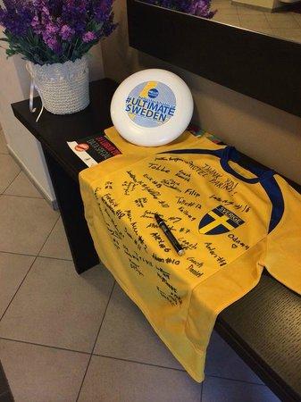 Parini Hotel: Swedish ultimate junior delegation