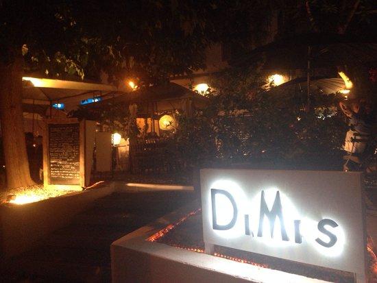 Restaurante DiMi s: De sfeervolle tuin is een leuke ambiance.
