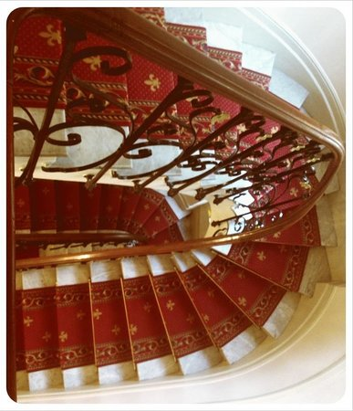 Hotel Villa Rivoli: Lots of stairs!