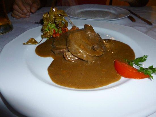 Pod Baranem Restauracja: Jabalí