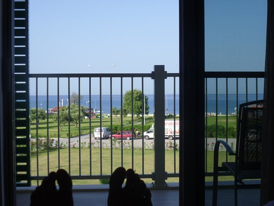 TUI SENSIMAR Barut Andiz: View from bed room 1344