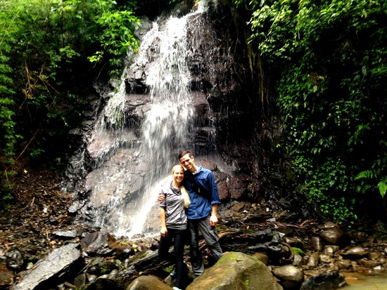Sabine's Smiling Horses : Waterfall hike!